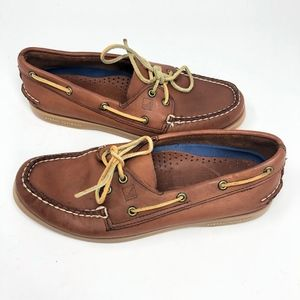 Sperry | Original Leather Boat Shoe Brown Loafer